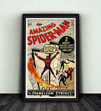 11x17 Amazing Spiderman #1 Comic Book Cover Replica Poster Print Marvel Stan Lee