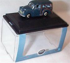 Morris Minor Traveller Trafalgar Blue 1-76 OO Scale Mib 76MMT002
