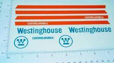 Nylint Westinghouse Econoline Van Sticker Set    NY-078