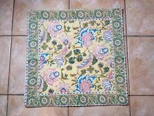 "Pottery Barn Joplin Block Print Inspired Pillow Cover Yellow 20"" #2685"