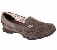 SKECHERS Women's Relaxed Fit Bikers Pedestrian Slip On Memory Foam Shoes 48930