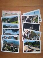 ancienne pochette 10 photos - Lourdes - centenaire des apparitions 1958