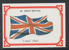 Monty Gum 1980 Flags Cards - Card No 48 - Great Britain  (T615)