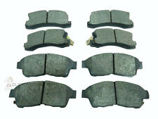 FRONT AND REAR BRAKE DISC PADS NEW FULL SET FOR TOYOTA CELICA 1.8 ST 16V 95-99