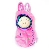 "Manhattan Toys Hunny Bunny Snuggle Pod Plush 11"" Baby Doll Stuffed Animal Toy"