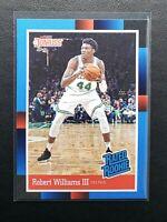 2018-19 Panini Instant Robert Williams RC, Rookie Card Donruss '88, Celtics