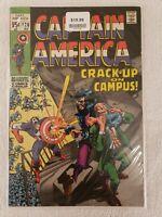 Captain America #120 Crack - up on Campus  (Dec 1969, Marvel)