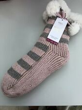 Marks and Spencer's ladies fleece lined booties size 6-8 UK