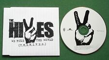 The Hives We Rule The World 2 Mixes Promo CD Single