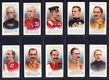 More details for taddy v.c. heroes boer war (41-60) 1902 set of 20 *vg condition*