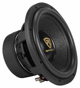 """Rockville W12K9D2 12"""" K9 4000w Peak Car Stereo Subwoofer 1000w RMS CEA Rated Sub"""