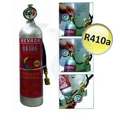 3S Kältemittel GAS R410a 800 gr DIY KIT REFILL mit Manometer KLIMAANLAGE