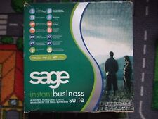 Sage instant business suite CD and all manuals