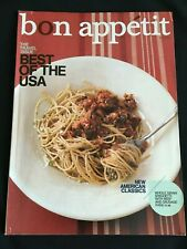 Bon Appetit May 2009 The Travel Issue Best of the USA Magazine