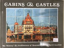 Cabins And Castles History of Architecture Buncombe County Asheville NC Book