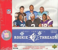 2007 UPPER DECK SP ROOKIE THREADS HOBBY FOOTBALL - 10 BOX CASE ( PETERSON)
