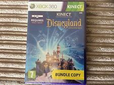 MICOROSOFT XBOX 360 DISNEYLAND ADVENTURES KINECT GAME NEW & SEALED