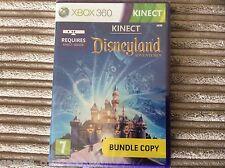 MICOROSOFT XBOX 360 DISNEYLAND ADVENTURES KINECT GAME NEW & SEALED