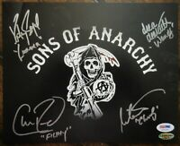 Katey Sagal / Drea De Mateo / Ornstein Sons Of Anarchy Signed 8x10 Photo PSA DNA