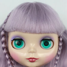 """Takara 12"""" Neo Blythe Purple Hair Nude Doll from Factory Tby24"""