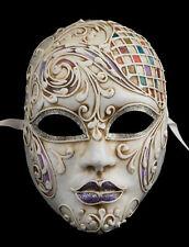Masque de Venise Volto féminin Athéna -Carnaval vénitien- Papier Mache 308