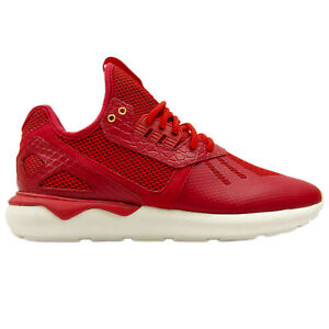 Adidas Mens Tubular X Chinese New Year Sneakers AQ2549 Red/Wht