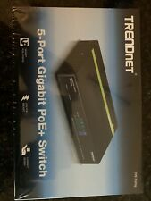 TRENDnet 5-Port Gigabit PoE+ Switch TPETG50G