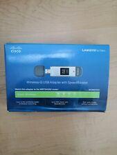 Cisco Linksys WUSB54GSC Compact wireless G USB Internet Adapter