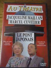 DVD * LE PONT JAPONAIS * JACQUELINE MAILLAN LEONARD SPIGELGASS Theatre VERGEZ