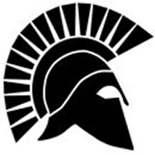 Spartan helmet/helm-mur/ordinateur portable/voiture-vinyl decal/autocollant-free post