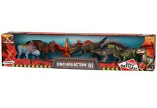 Kid Galaxy Poseable 9inch Dinosaur Action 6Pack