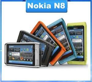 "Nokia N8 12MP 3G GPS WIFI 16GB Internal Storage 3.5"" Touch Screen Original"