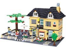 Creation City Villa House w/ Seesaw figures Compatible Building Bricks 816pcs UK