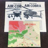 Air Cobra Operational Studies Group OSG Board Wargame PARTS Maps Rules Display