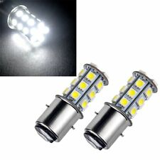 White DC12V BA20d Led Light Car bulb Bulbs Headlight 5050 LED