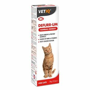 Mark & Chappell Defurr-UM Plus Paste Furball Protector for Cats 70g Hairball Rem