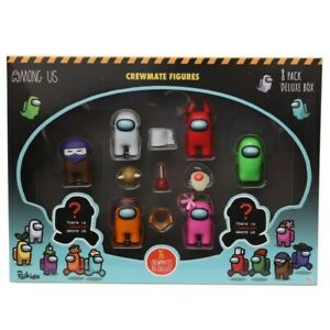 Among Us Crewmate Figures 8 Pack Deluxe Box