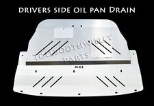 Aluminum Engine Splash Shield Under Tray Skid Plate for Subaru WRX STI 2002-2003