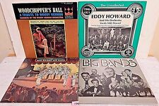 179 Lot LPs+Big Bands Are Back 2X+Greatest Hits 2X+Eddy Howard+Woodchoppers Ball