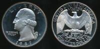 United States, 1987-S Quarter, 1/4 Dollar, Washington - Proof