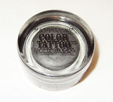 Maybelline 24hr EyeStudio Color Tattoo Cream EyeShadow ~ 15 Audacious Asphalt