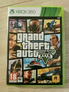 XBOX 360 - GRAND THEFT AUTO V - COMPLET