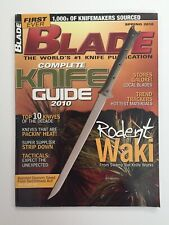 BLADE Magazine Spring 2010 The world's #1 knife publication Rodent Waki NOS