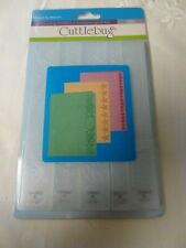 Provo Craft Cuttlebug Embossing Folders 2000219 Measure by Measure