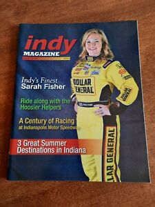 MAY /  JUNE 2009 - SARAH FISHER - INDY MAGAZINE