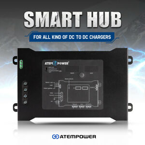 ATEM POWER Smart Hub Dual Battery System Fit DC to DC Chargers