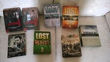 8 cofanetti: LOST, Band of Brothers, Pacific, La Piovra, Intelligence