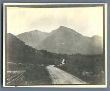 UK, Scotland, Pass of Glencoe  Vintage silver print.  Tirage argentique  10,