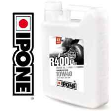 Huile IPONE R4000RS 10w40 4 litres R4000 moto route circuit compétition 4L NEUF