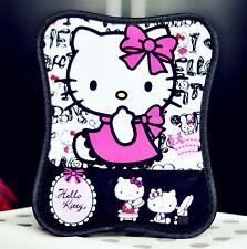 New Cute Black Hello Kitty Durable Mouse Pad Thin Comfort Wrist Mat Mice Pad